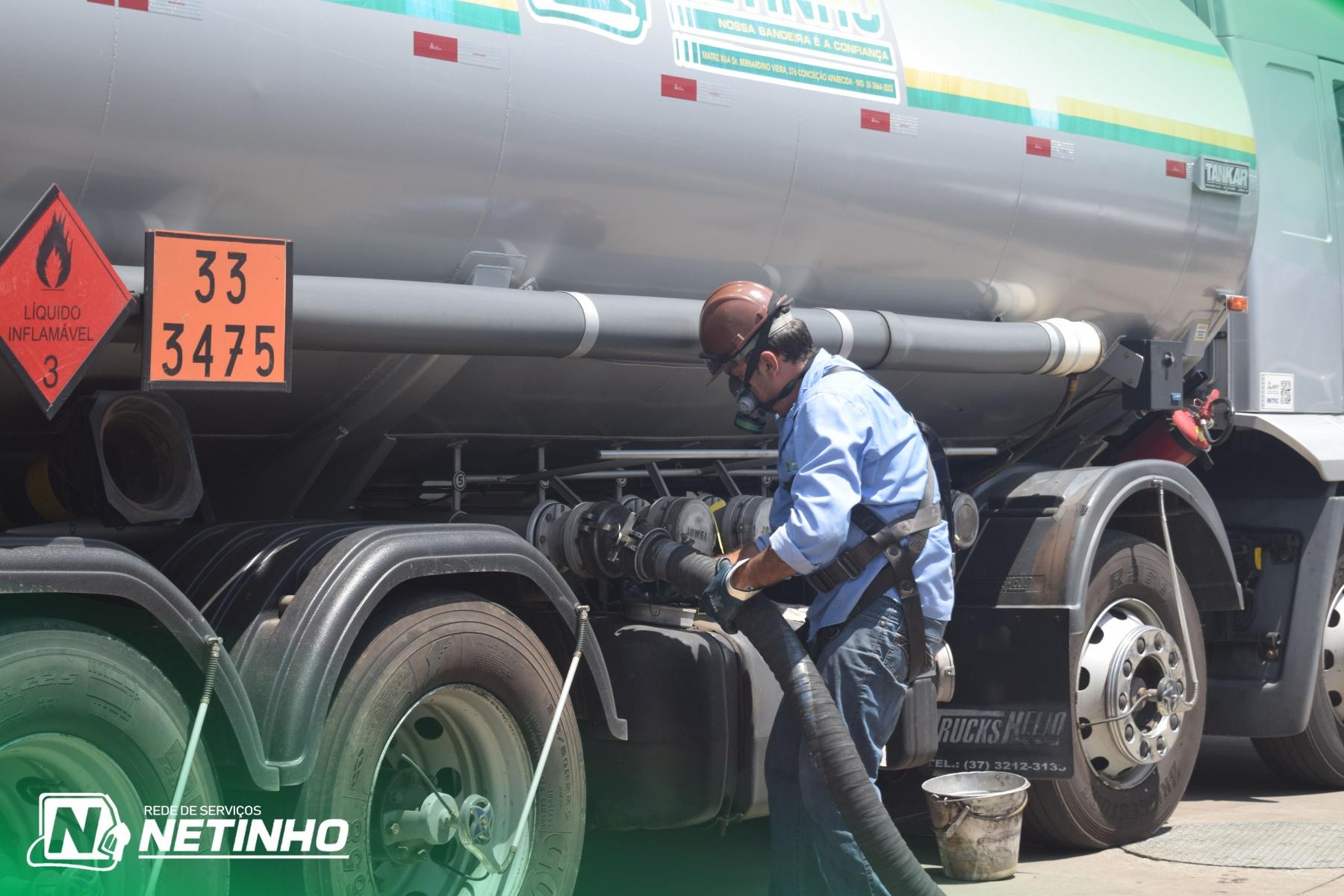 Descarga de Combustível - APN 3 Carmo